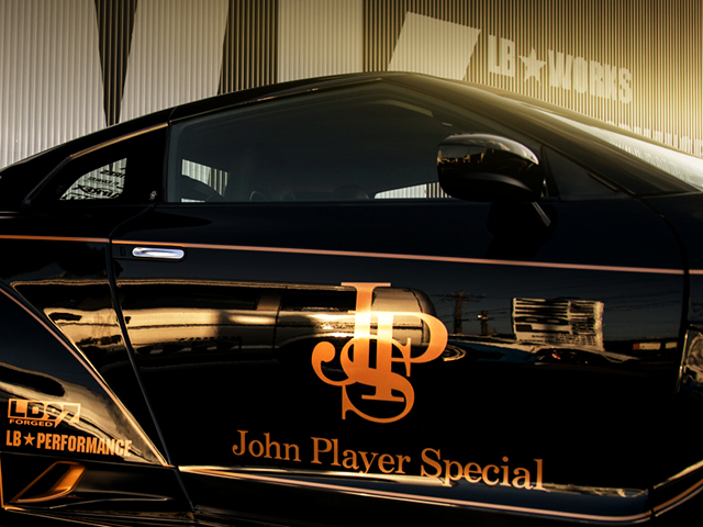 JPS LIVERY DECAL.