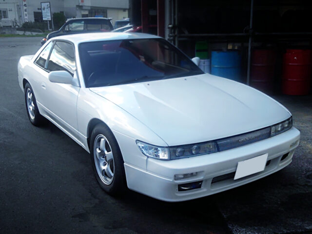 FRONT EXTERIOR of S13 NISSAN SILVIA.
