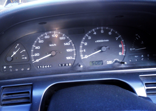 180km/h SPEED CLUSTER of S13 SILVIA.