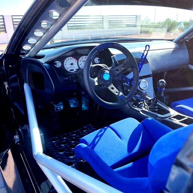 DRIVER'S STEERING of S14 240SX INTERIOR.