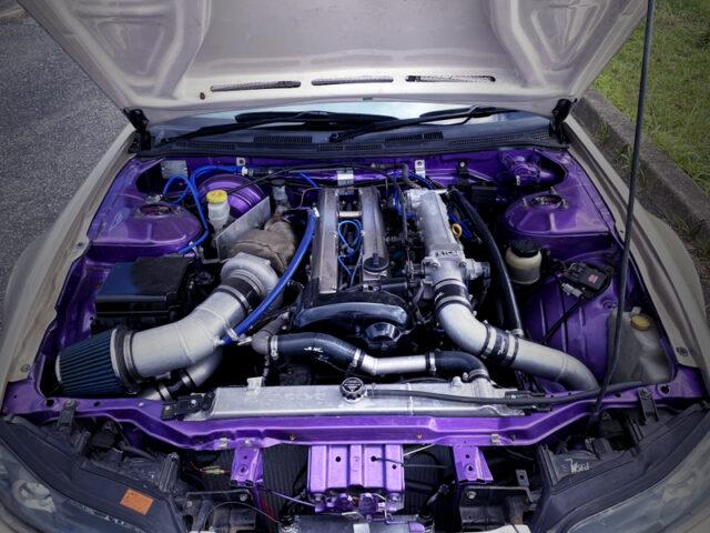 VVTi 1.5JZ 3.0L ENGINE with GARRETT GTX3582 SINGLE TURBO.