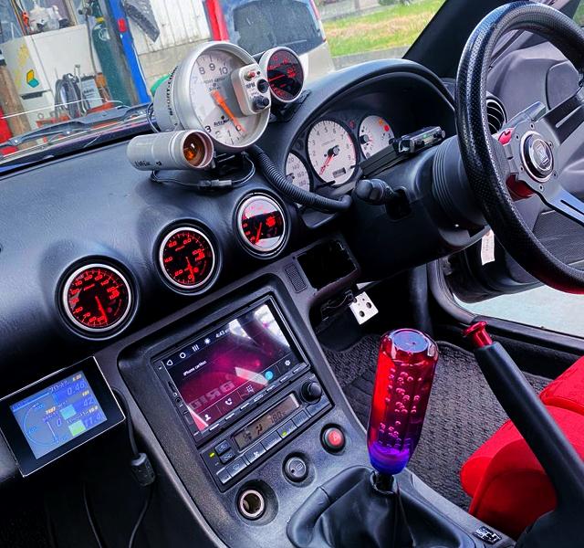 DRIVER'S DASHBOARD of S15 SILVIA.