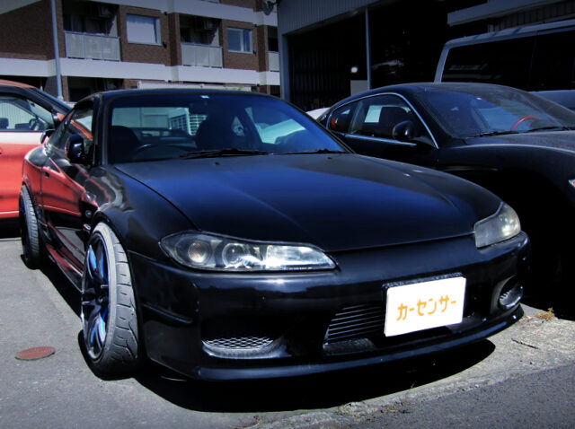 FRONT EXTERIOR OF S15 SILVIA SPEC-S L-PACKAGE.