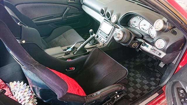 DRIVER'S SIDE INTERIOR of S15 SILVIA