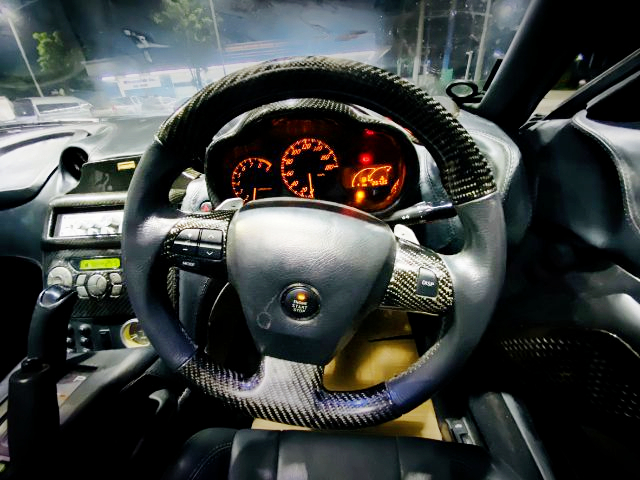 STEERING AND DASHBOARD of SW20 MR2 G.